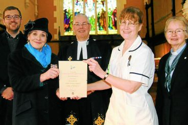 New parish nurse is a first for the region