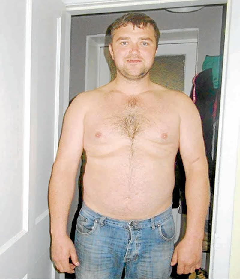 Ewan's five stone weight loss transformation is amazing . . .