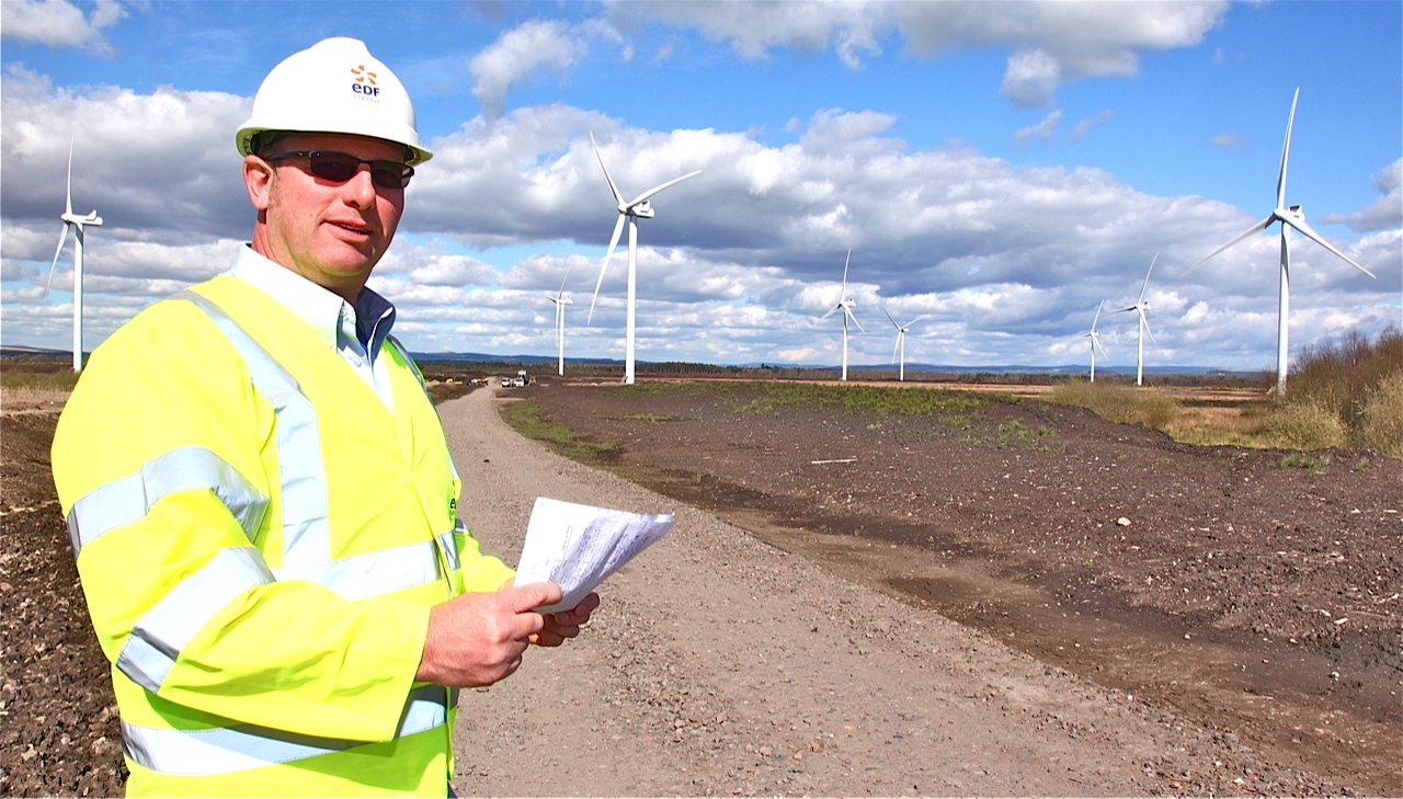Border wind farm to go live this week