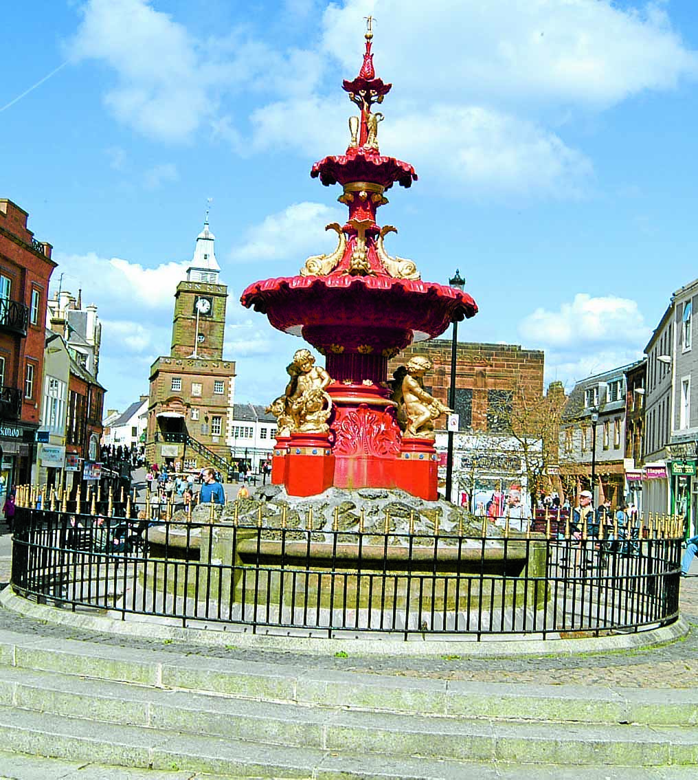 £50k review of town centre under fire