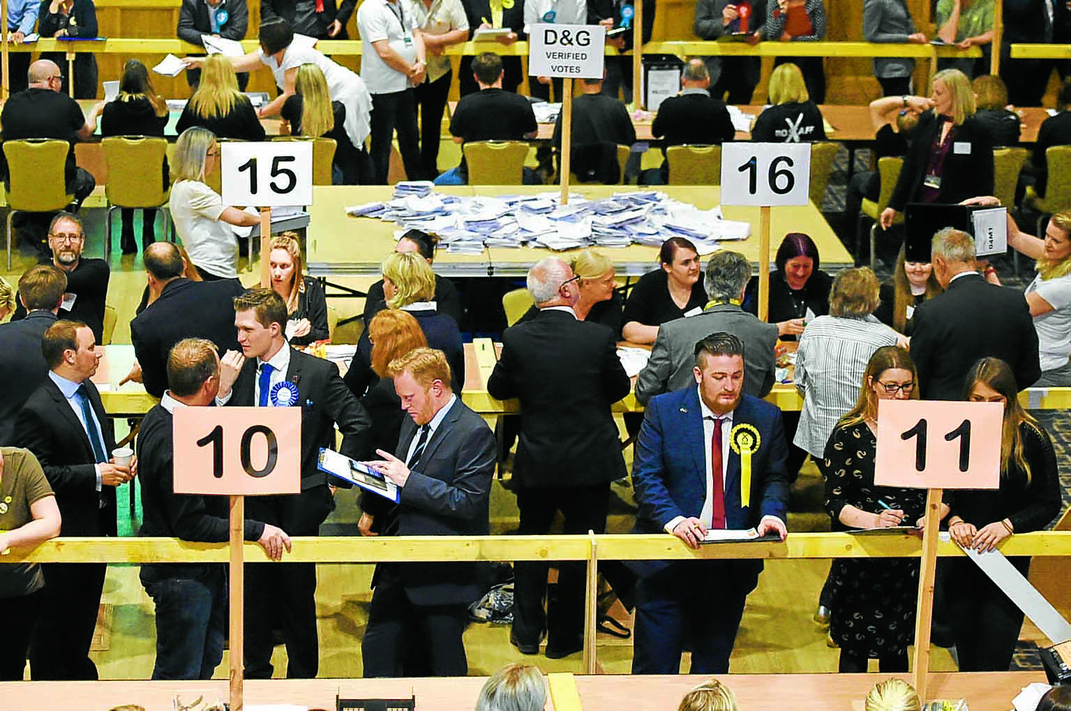 Keswick Centre to host election night - DnG24