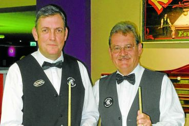 Scotland call up for billiards pair