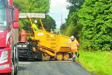 Plastic road first for region