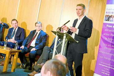 Events place business top of agenda