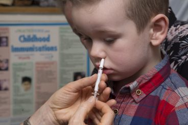 Parents urged to join flu fight