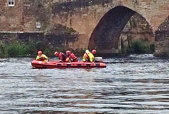 Woman plucked to safety from River Nith