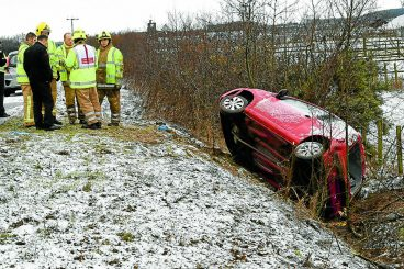 Snow brings roads chaos