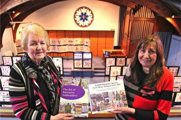 VIDEO: Scots heritage celebrated at tapestry display