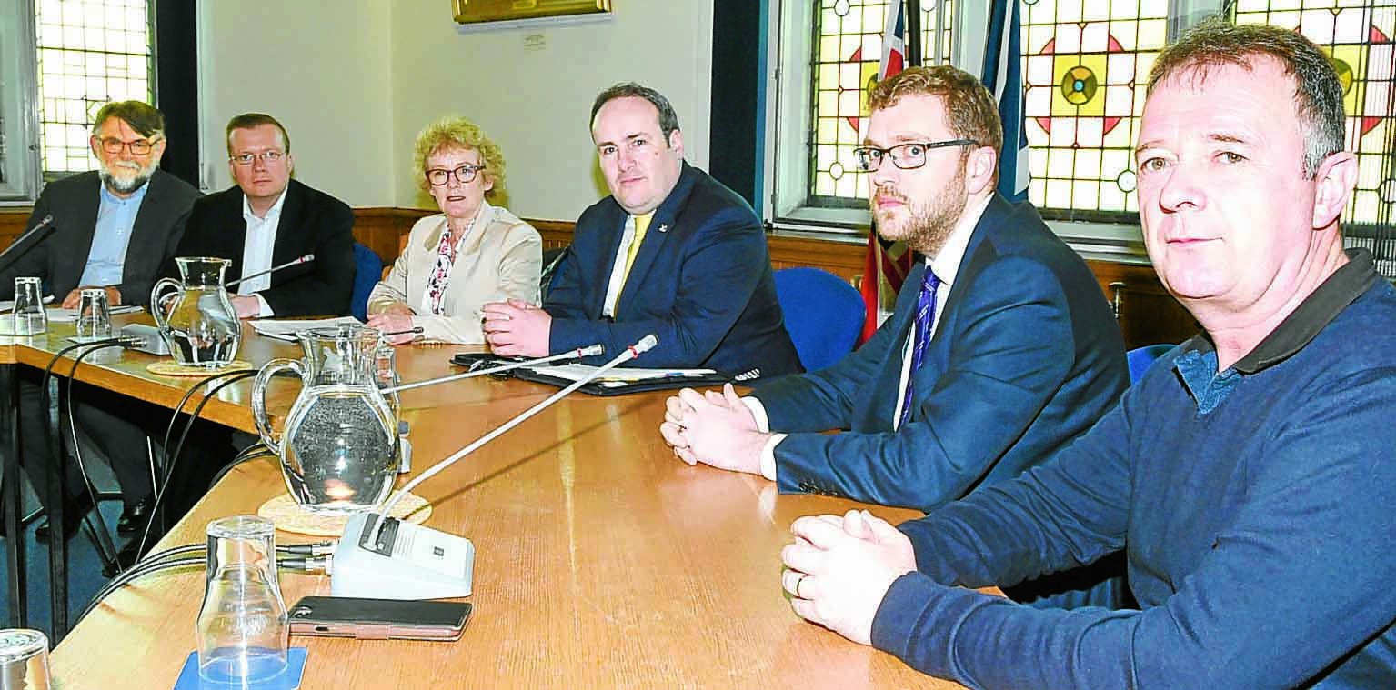 Pinneys: Action meeting takes place