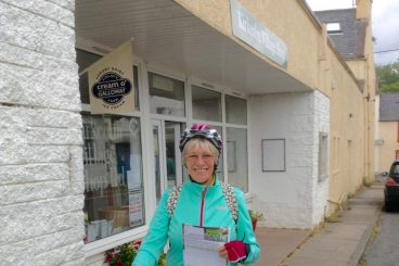 Mavis, 80, in cycle tribute