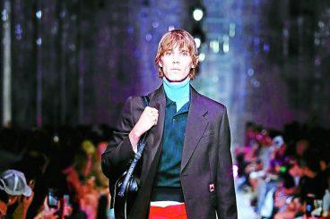 Catwalk coup for male model Jack