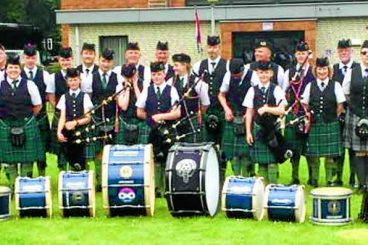 Pipe bands merge to form super group