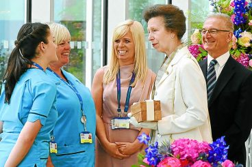 Royal opening for region's new hospital