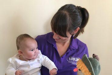 Mum helps babies find their voice