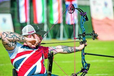 Silver shot for archer