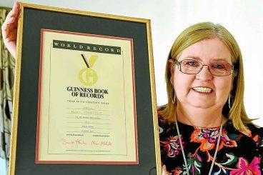 Record holder Mary recalls life at Pinneys