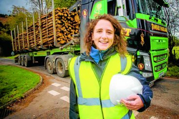 Timber routes boost