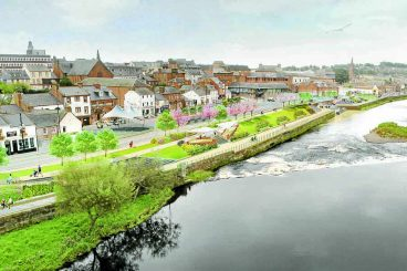 Whitesands flood scheme approved
