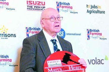 Special honour for John