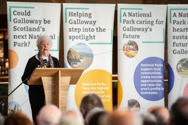 Huge support for national park
