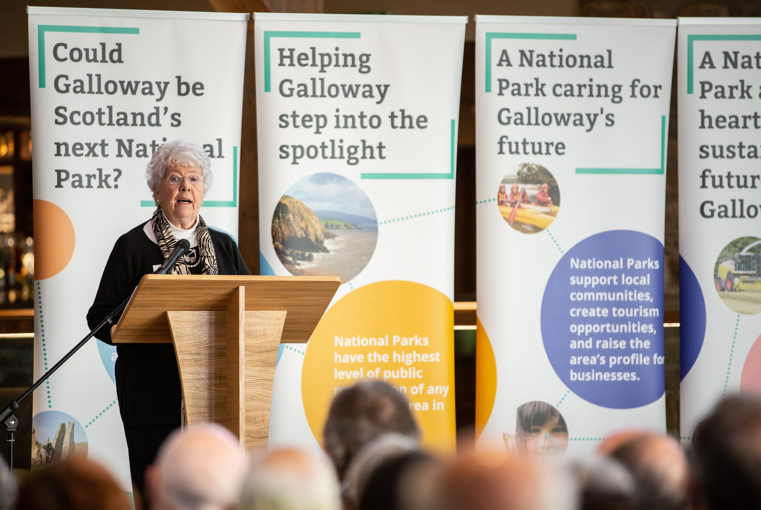 Huge support for national park