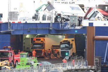 Major incident at Cairnryan crossing