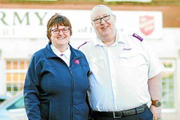 Celebrating the Salvation Army in Lockerbie