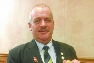 Special recognition for hard working councillor