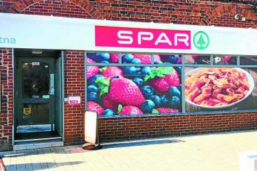 Spar store targeted by solo robber