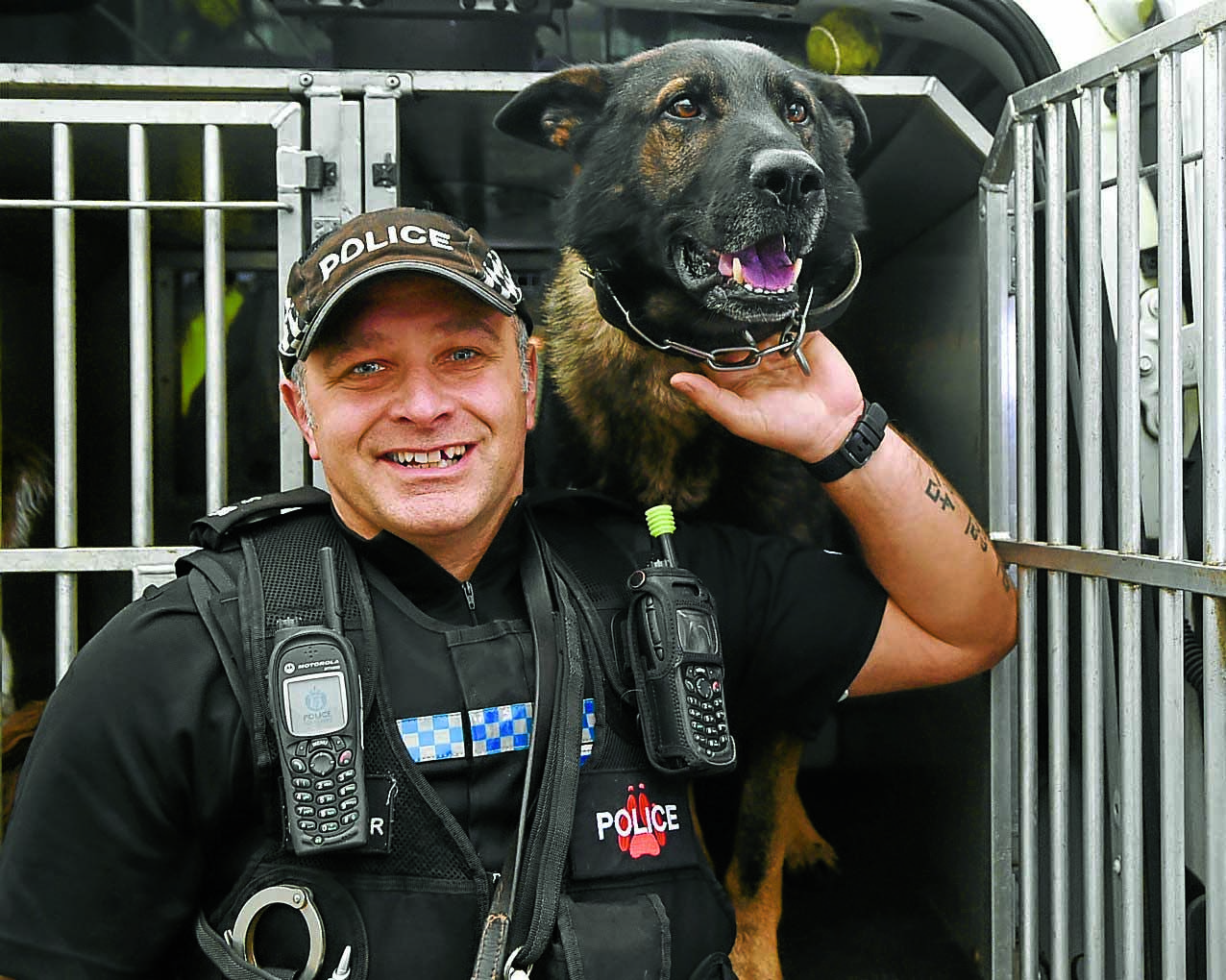Police mourn death of pup Buck