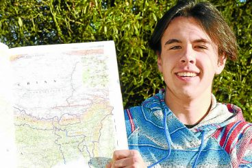 Rory on countdown for Nepal adventure