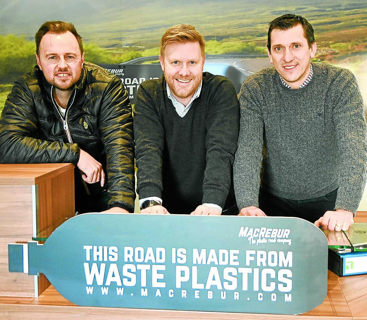 £1.6m boost for plastic roads
