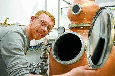 Rum-believable distillery in full flow