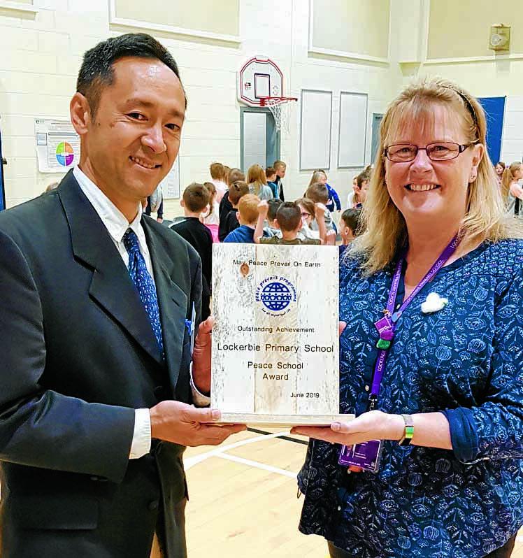 Peace school accolade