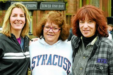 Emotional town trip for American trio