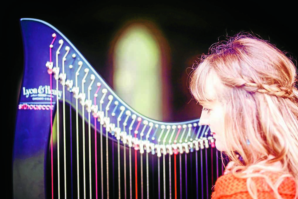 Canada calling for harpist