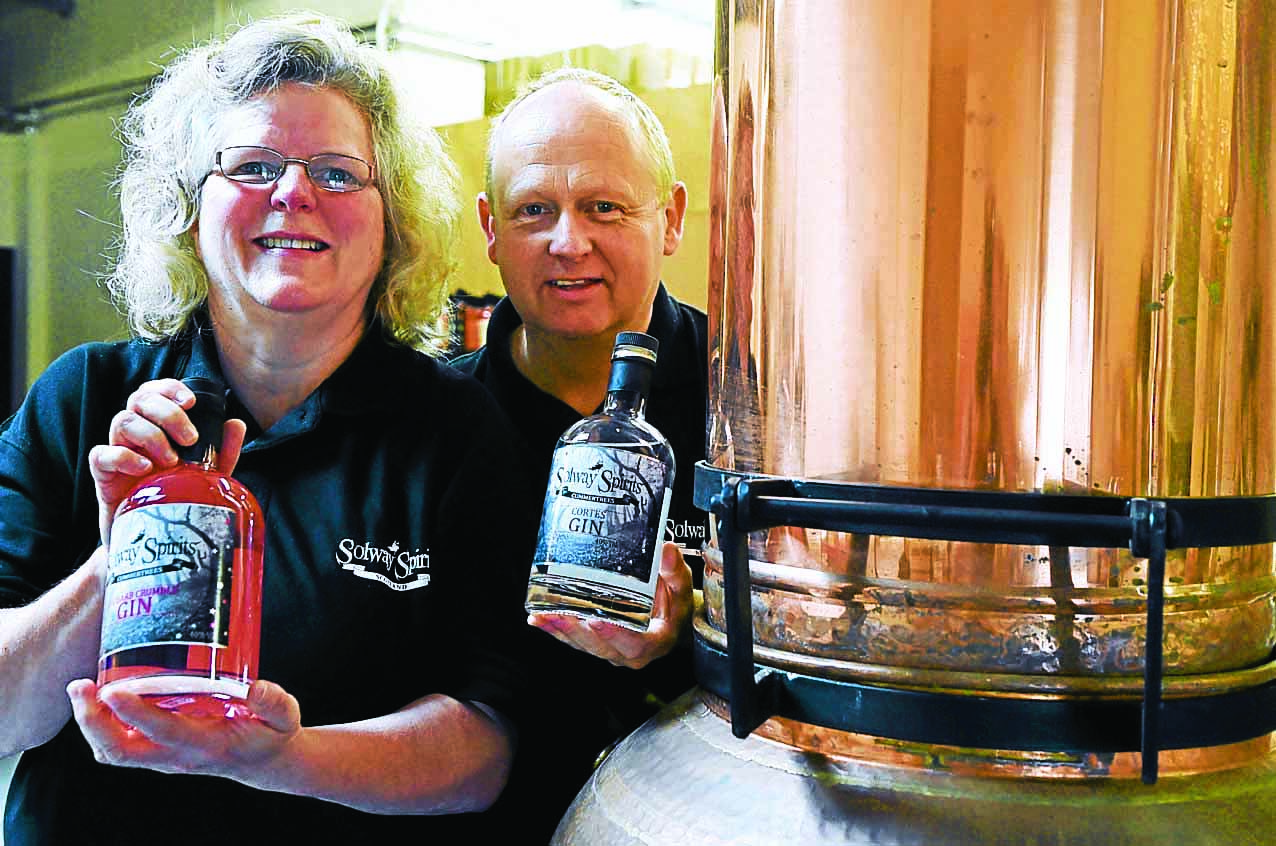 Gin duo putting Annan on the map