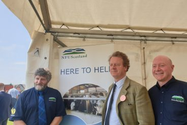 New Secretary of State at Stranraer Show
