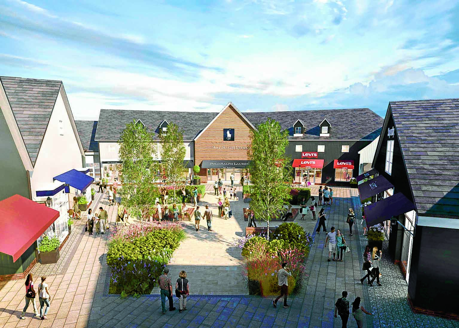 New name for outlet village