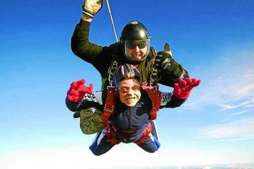 Marvellous Margaret, 90, takes to the skies