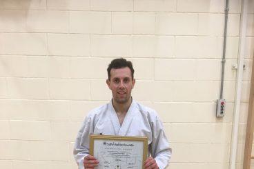 Karate kudos for Fraser