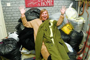 Gillian helps folk stay cosy this Christmas