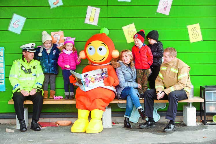 Dalbeattie Nursery reminded to go safe with Ziggy