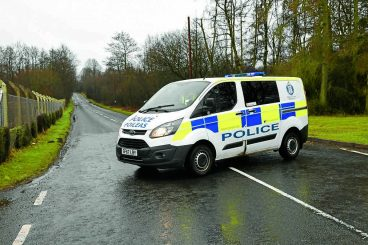 Road closed after one vehicle crash