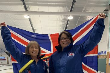 Curling duo are going for gold
