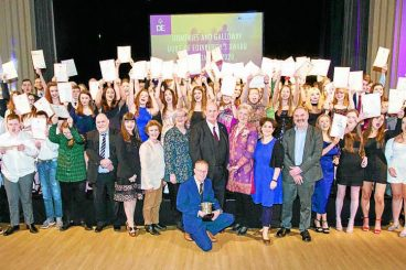 Youngsters celebrate DofE success