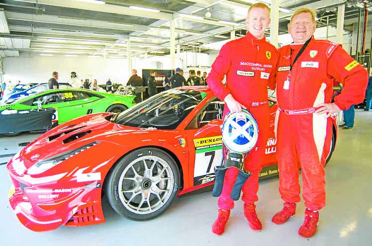 Porsche Cup place for Ross