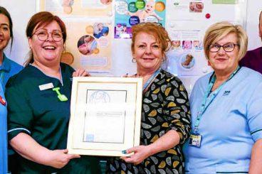 UNICEF UK award for neonatal