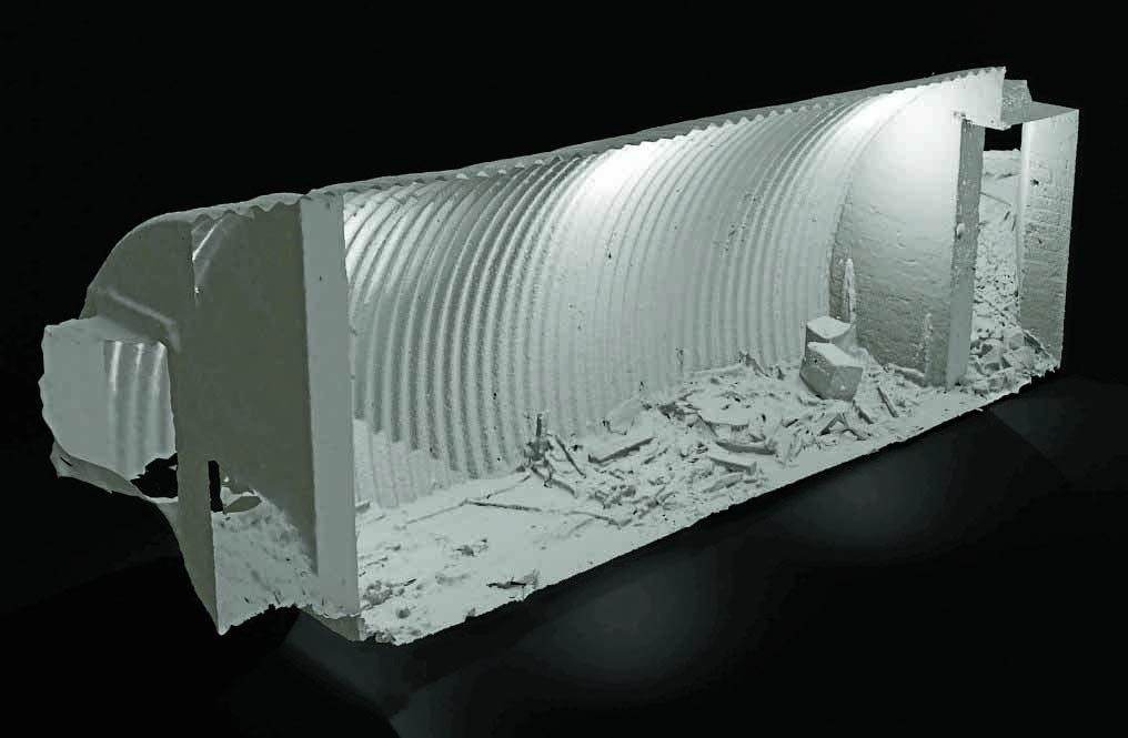 Forgotten wartime bunker uncovered