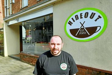 Coffee shop owner keen to make a difference